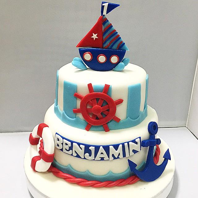 Anchor Theme Cakes