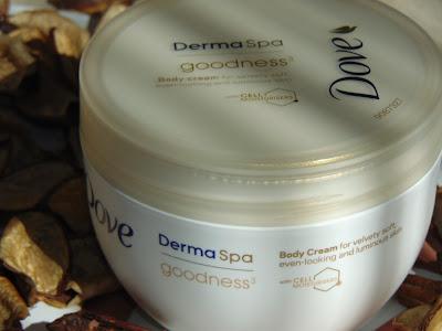 Dove, DermaSpa Goodness, Nawilżający krem do ciała wyrównujący koloryt