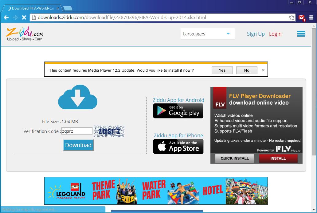 Cara Download File di Ziddu 2