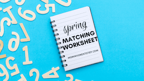 Spring Matching Worksheet
