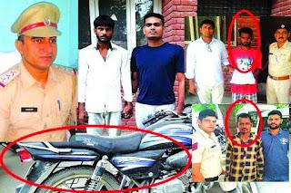 क्राइम ब्रांच के प्रभारी संदीप मोर ने दो  चोर और एक गांजा तस्कर को किया  गिरफ्तार