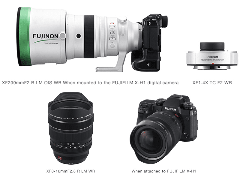 Fujifilm announces monster glass 8-16 f/2.8 and 200 f/2.0 lenses and new lens road map!