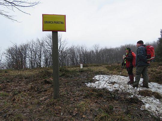 Na granicy polsko-słowackiej.