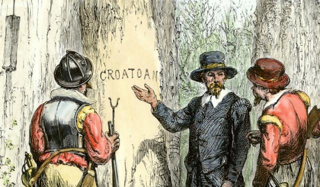 Η μυστηριώδης λέξη Croatoan και η χαμένη αποικία