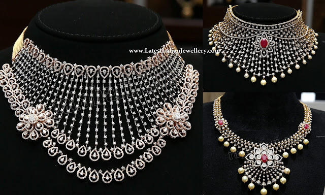 Diamond Necklaces from Malabar