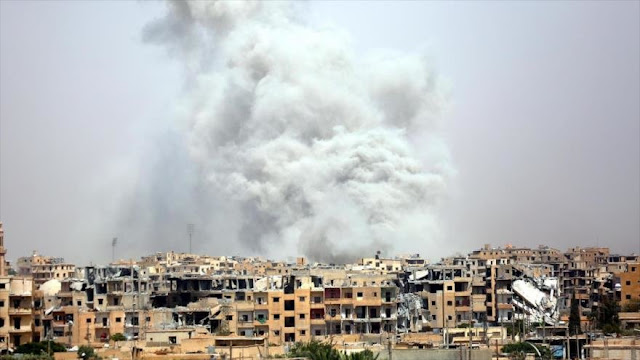 Cazas de EEUU matan a otros 32 civiles sirios, incluidos niños