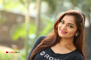 Actress Aswini Latest Stills in Black Denim Jeans  0216.JPG