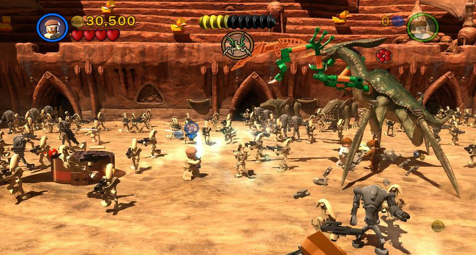 LEGO STAR WARS III The Clone Wars pc full español