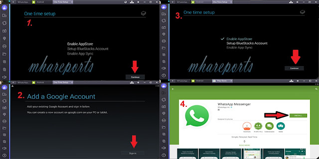 Download/Install WHATSAPP on PC For Windows 7/8.1/10