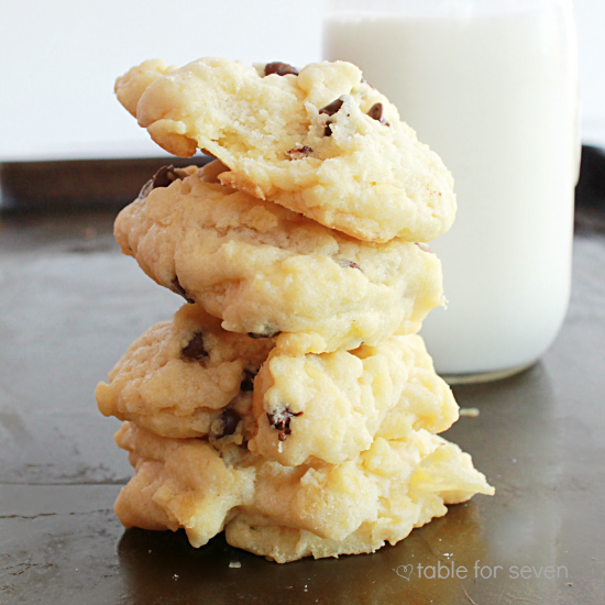 Potato Chip Cookies • Table for Seven
