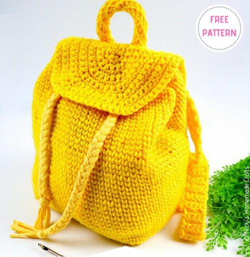 Little Backpack – Free Crochet Pattern
