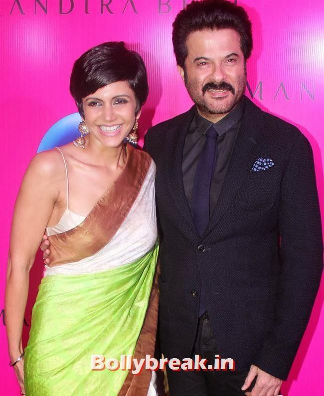 Mandira Bedi and Anil Kapoor, Mandira Bedi Sari Store Launch Photos