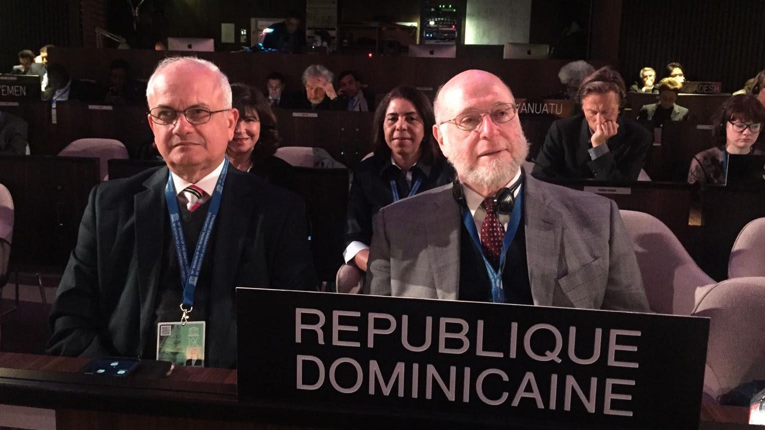 Pedro Vergés expone ante UNESCO avances alcanzados por República Dominicana en educación y cultura