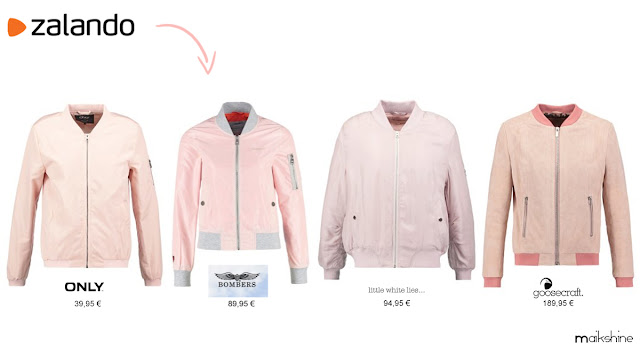 Shopping pink bomber_Zalando selection