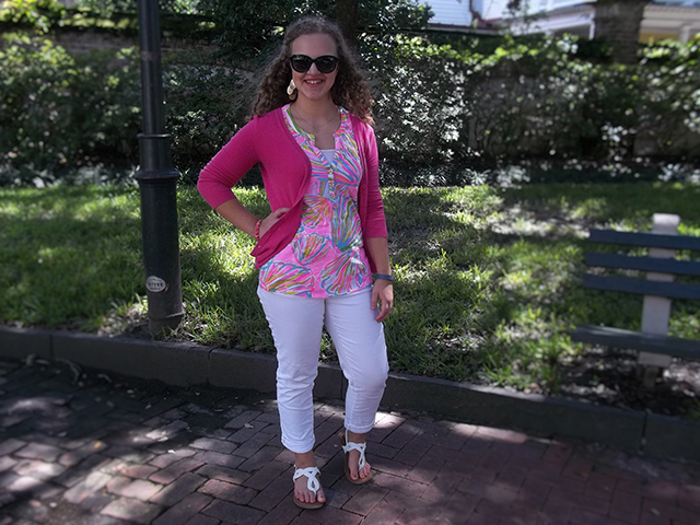 Lilly Pulitzer + White After Labor Day & Grace + Lace Link Up: There are two kinds of people in the world: those that follow fashion rules and those that don't. I am the latter. There is one fashion rule that I absolutely always break. That rule is...