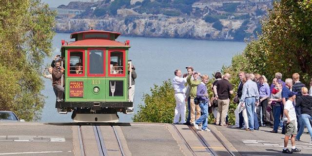 Movimentação de turistas e hospedagens no mês de julho em San Francisco