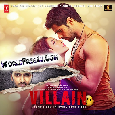 Poster Of Ek Villain (2014) All Full Music Video Songs Free Download Watch Online At worldfree4u.com