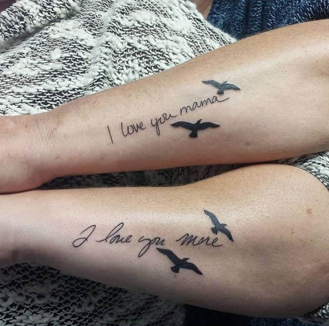 Mother-Daughter Tattoos