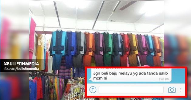 """Ramadhan Hampir tiba .. Namun Stok Baju Terbaru Kali Ini Ada Lambang """"SALIB"""" !!"""