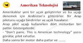 Amerikan Teknolojisi - Mühendis Fıkraları - Komikler Burada
