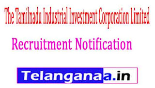 The Tamilnadu Industrial Investment Corporation Limited TIIC Recruitment Notification 2017