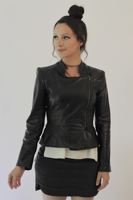 Julia Bobbin - The Leather Jacket - Burdastyle 108B