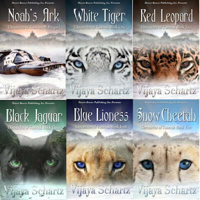 WHITE TIGER is now free in eBook everywhere - by Vijaya Schartz