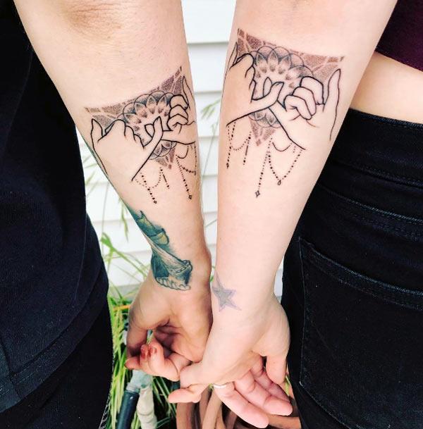 Tattoos Design Ideas: 32 Best friend tattoos - Matching tattoo ...