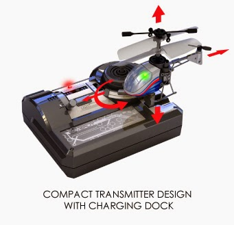 silverlit toys nano falcon transmitter and charging station