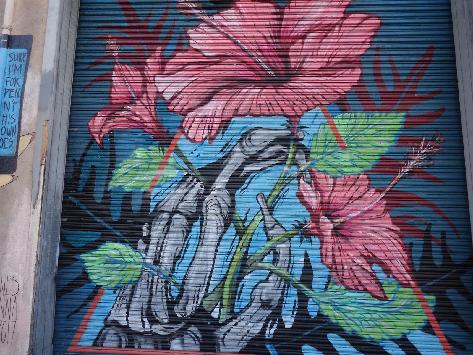Ed abillano todays street art hibiscus flower todays street art hibiscus flower izmirmasajfo