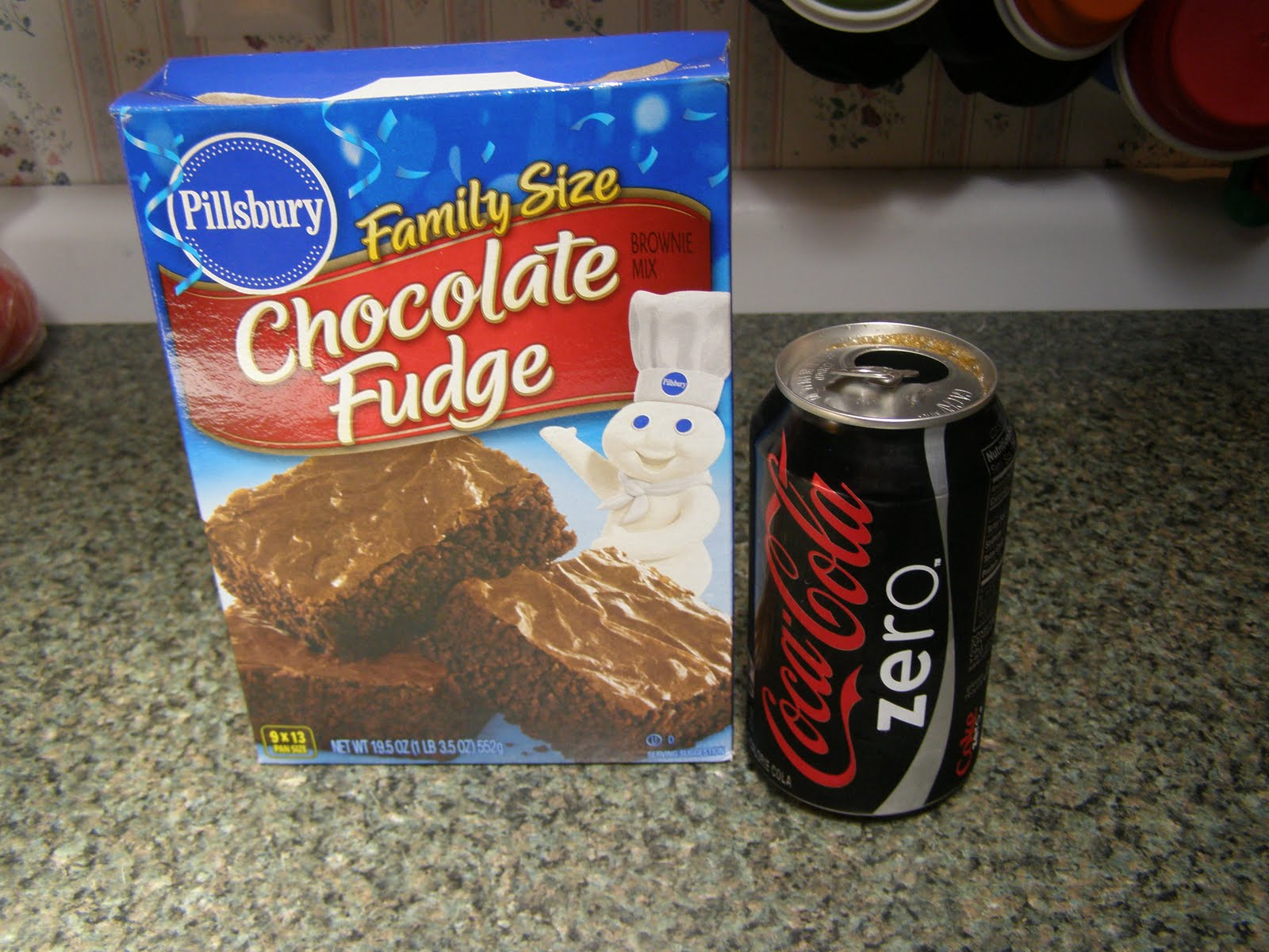 Laced With Love Coke Zero Brownies