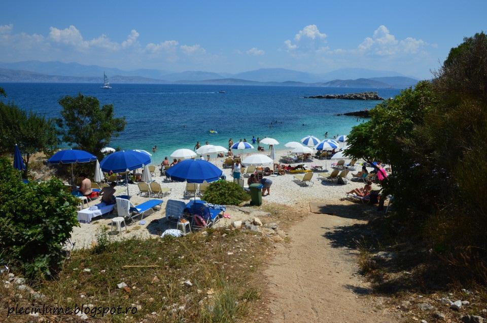 Plaja din Kassiopi, Corfu