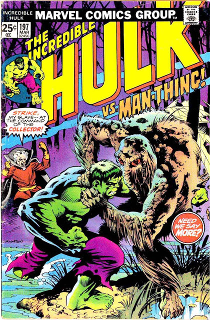 Incredible Hulk v2 #197 marvel comic book cover art by Bernie Wrightson