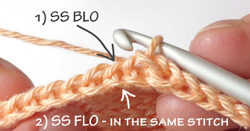 Slip Stitch BLO Increase