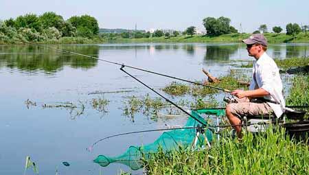 Рыбалка в мае на озере
