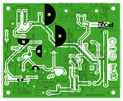 PCB layout for LM317 power supply