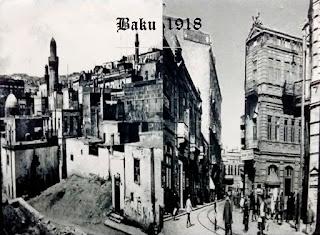 Suasana Ibukota Azerbaijan zaman dahulu