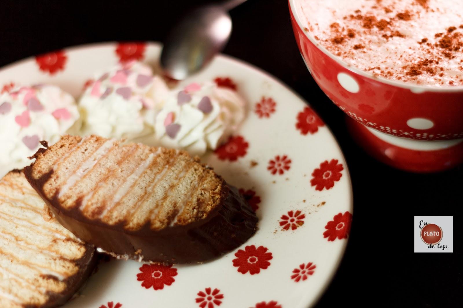 Tarta de galletas y dos chocolates versus Verrine de fresas y chocolate blanco