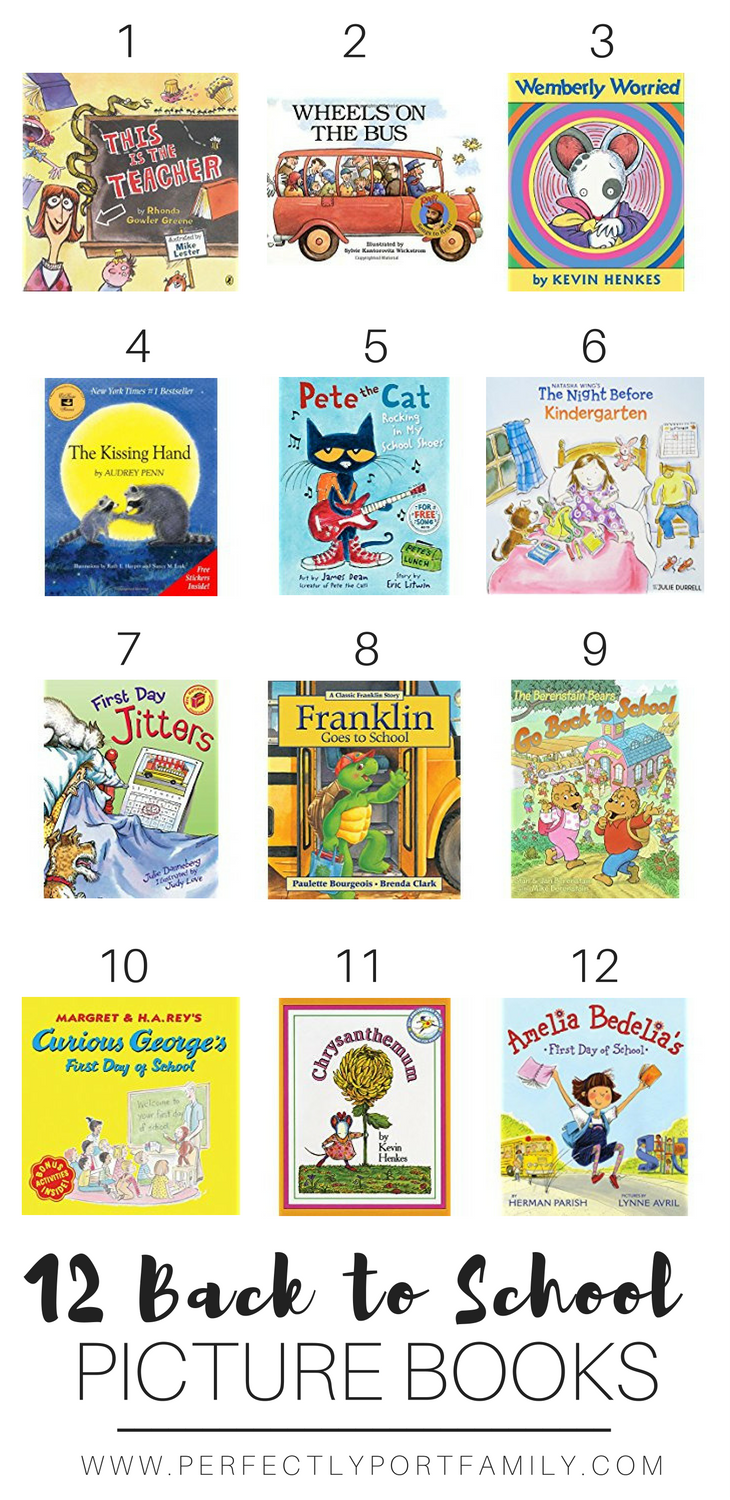 12 Back to School Picture Books | Simple Purposeful Living