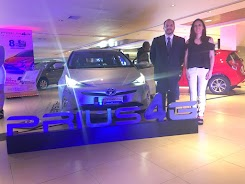 Casabaca engalanó la 'Feria Automóvil Cumbayá' con sus modelos Toyota 2018