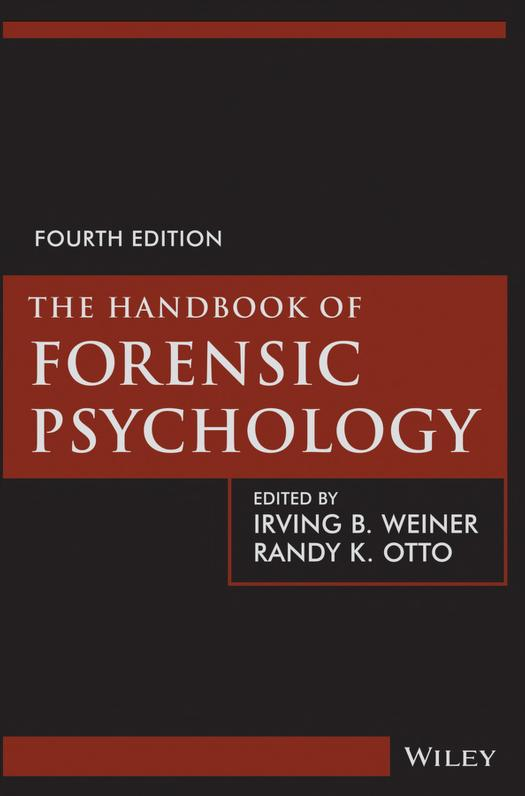 The Handbook of Forensic Psychology PDF Book