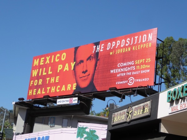 Opposition Mexico pay healthcare billboard