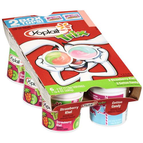 image regarding Yoplait Printable Coupon titled Slicing Discount coupons inside KC: Yoplait Trix Yogurt Printable Coupon