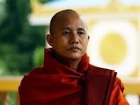 Inilah Biksu Wirathu, Teroris Botak Pembantai Muslim Rohingya