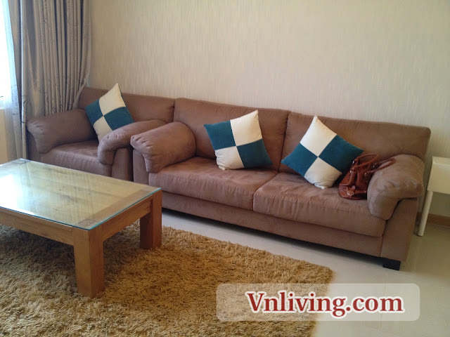Saigon Pearl apartment for rent 2 bedrooms in Binh Thanh District