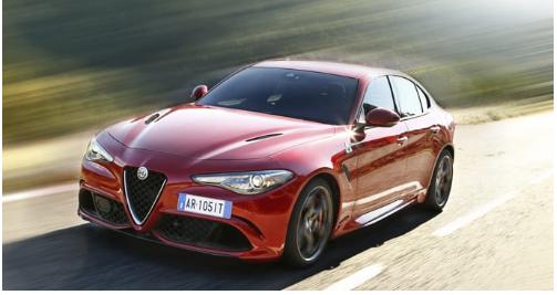 Optional di serie Alfa Romeo Giulia versione Quadrifoglio
