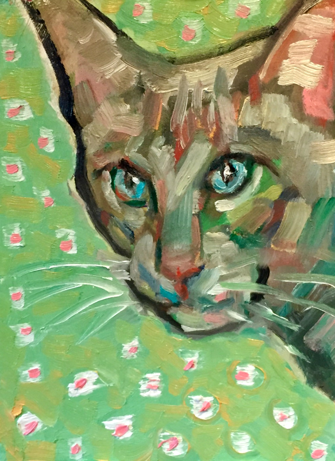 painting cats helps me with painting painting can be very difficult and it can be fun painting for fun and might seem lackadaisical