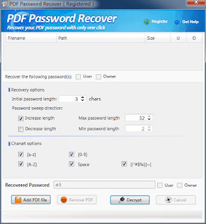PDF Password Recover serial, PDF Password Recover lisans anahtari, PDF Password Recover lizenz