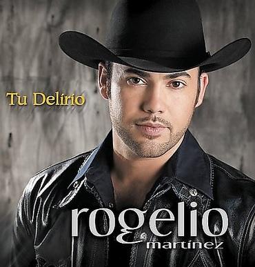 Foto de Rogelio Mártinez en portada de disco