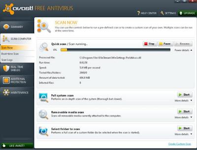 تحميل برنامج Avast لمكافحة الفيروسات للكمبيوتر 2018 برابط مباشر